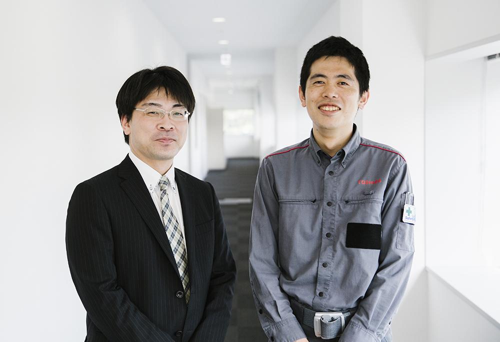 熊谷将一氏(左)と吉田拓氏(右)