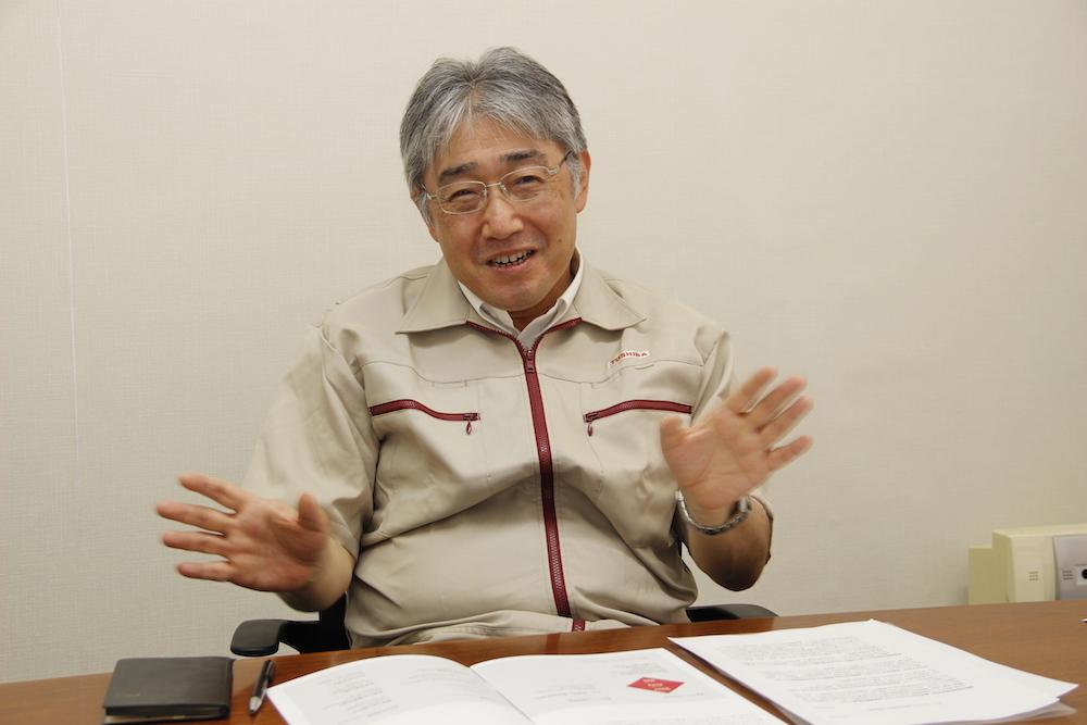 株式会社東芝 生産技術センター 首席技監 中川泰忠氏