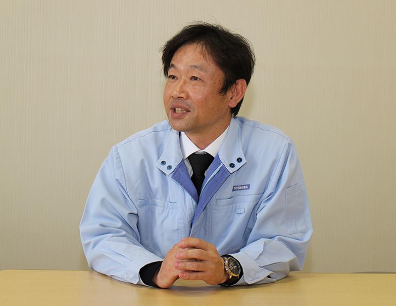 東芝エレクトロニックシステムズ株式会社 電波応用新規事業推進部 部長 吉田敏明氏