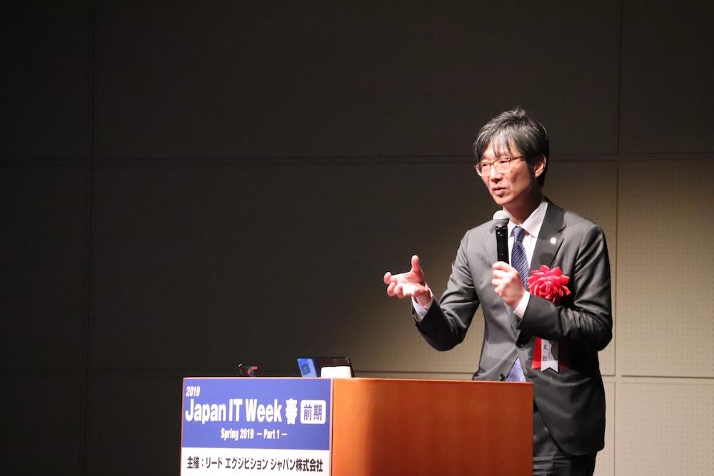 株式会社東芝 執行役常務 島田太郎氏