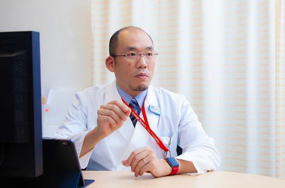 神奈川県立がんセンター 放射線腫瘍科・重粒子線腫瘍センター 重粒子線治療部長 加藤弘之氏
