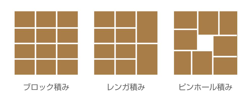 多彩な積み方も認識可能