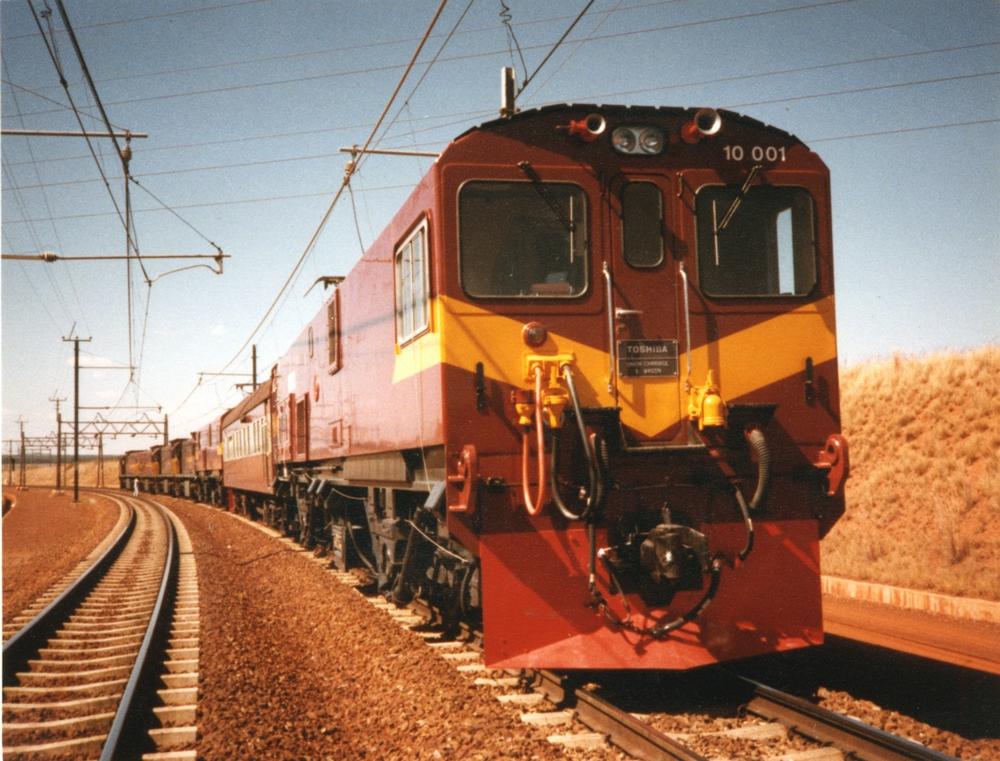 南アフリカ向け10E型電気機関車