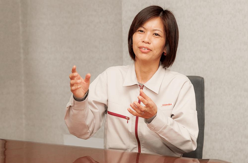 株式会社東芝 研究開発センター・林裕美氏