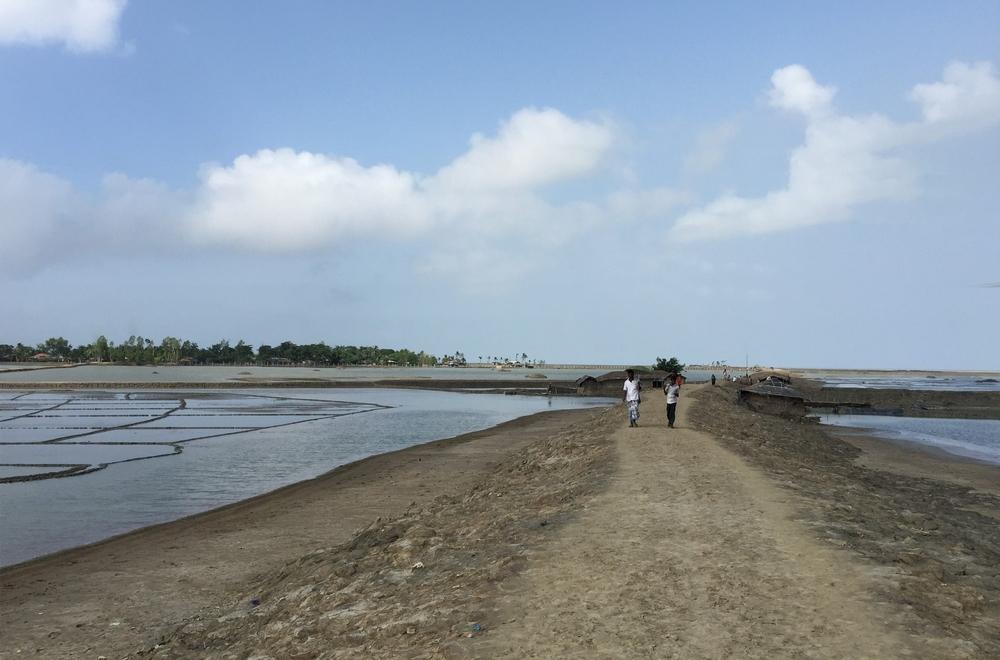 広大な塩田がバングラデシュの発展を支える火力発電所に生まれ変わる