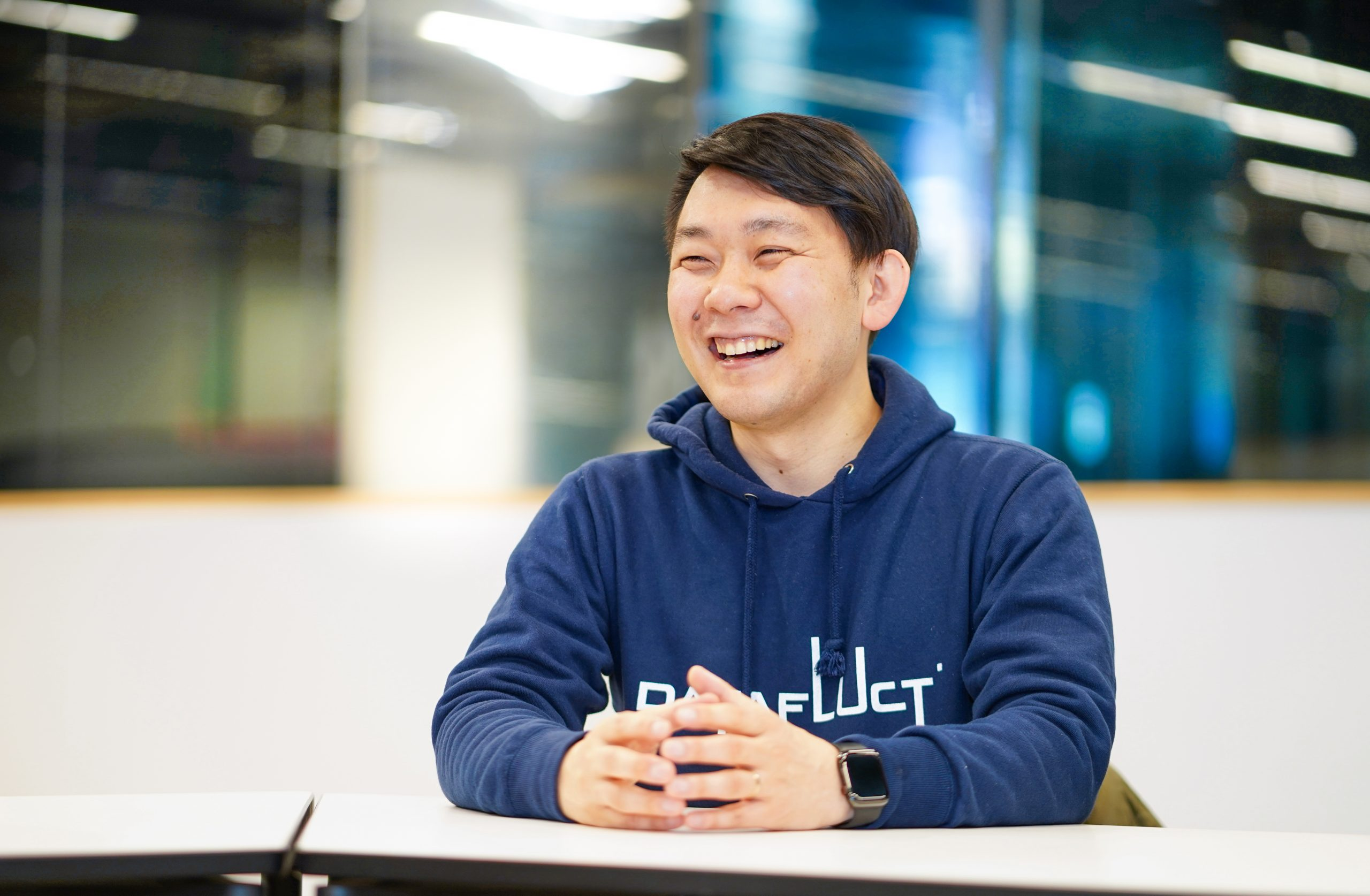 株式会社DATAFLUCT 代表取締役 久米村 隼人氏