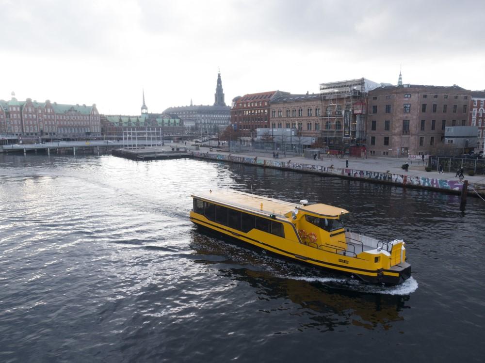 コペンハーゲンで運航するDamenとEchandiaの電動フェリー