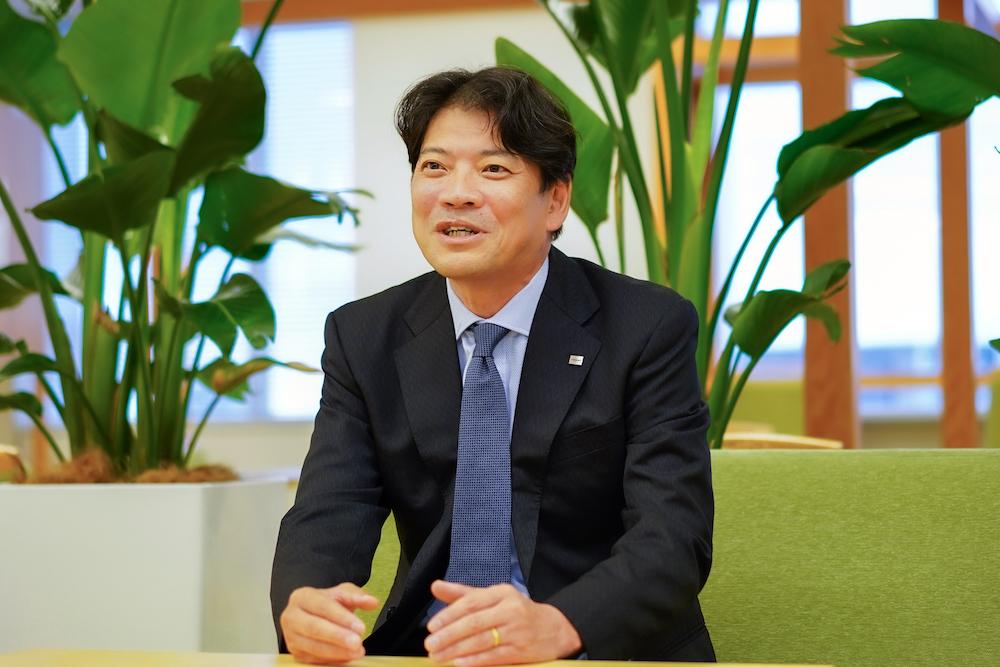 東芝プラントシステム株式会社 取締役常務 産業システム事業部 事業部長 大前 幸雄氏