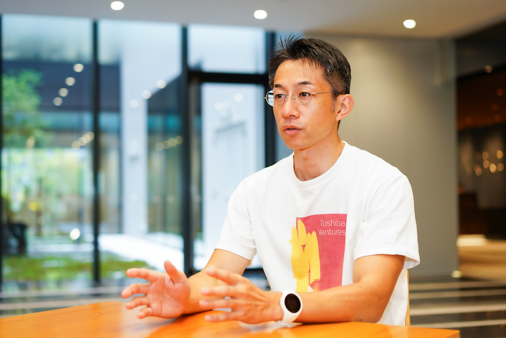 株式会社東芝 CPSxデザイン部 新規事業推進室 エキスパート 小柴 亮典氏